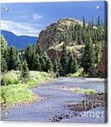 Rio Grande River Landscape Acrylic Print