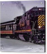 Rio Grande Scenic Railroad Acrylic Print by Ellen Heaverlo