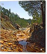 Rio Tinto Mines, Huelva Province Acrylic Print