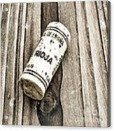 Rioja Wine Cork Acrylic Print by Frank Tschakert