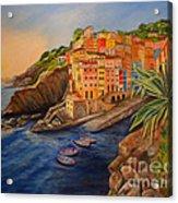 Riomaggiore Amore Acrylic Print