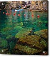 Riomaggiore Bay Acrylic Print