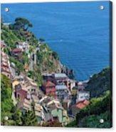Riomaggiore, Cinque Terre, Italy Acrylic Print