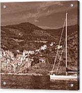 Riomaggiore Cinque Terre Acrylic Print