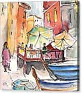 Riomaggiore In Italy 01 Acrylic Print