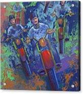 Rippin It Up Acrylic Print