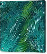 Ripple Sea Glass  Acrylic Print