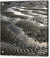 Rippled Sand Acrylic Print