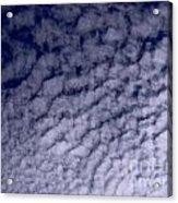 Ripples In The Dark Blue Sky Acrylic Print