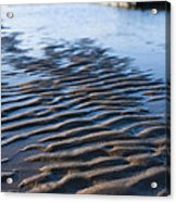 Ripples In The Sand Acrylic Print