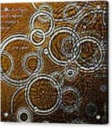 Ripples Acrylic Print