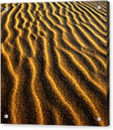 Ripples Oregon Dunes National Recreation Area Acrylic Print