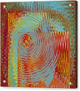Rippling Colors No 2 Acrylic Print