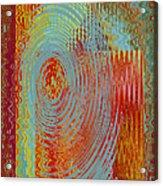 Rippling Colors No 3 Acrylic Print
