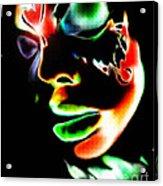 Rise Monarch Acrylic Print by Kandayia Ali
