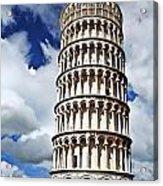 Rising Into The Tuscany Sky Acrylic Print
