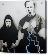 Rising Metallic Storm Acrylic Print