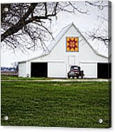 Rising Star Quilt Barn Acrylic Print