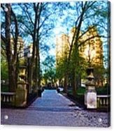 Rittenhouse Square Park Acrylic Print