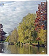 River Avon In Autumn Acrylic Print