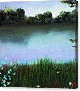 River Bank Acrylic Print