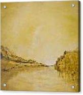 River Bank Slumber Acrylic Print