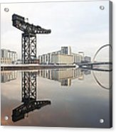 River Clyde Reflections Acrylic Print
