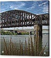 River Ferry Acrylic Print