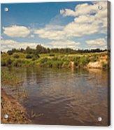 River Flows Acrylic Print
