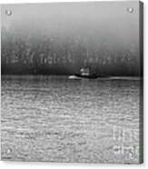 River Fog Acrylic Print