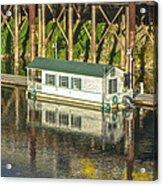 River Front 2 Sacramento Acrylic Print
