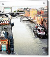 River Hull Acrylic Print by Anthony Bean