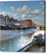 River Hull Acrylic Print