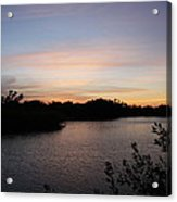 River In The Eveninglight - Sanibel Island Acrylic Print