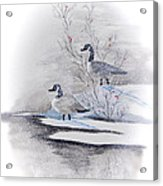 River Landing Acrylic Print
