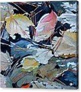River Leaves Acrylic Print