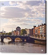 River Liffey 2 - Dublin Acrylic Print