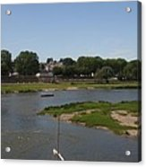 River Loire Fishing Boat Acrylic Print