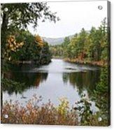 River North Conway Acrylic Print