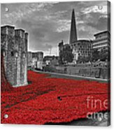 River Of Blood  Acrylic Print