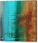 River Of Desire 21 By Madart Acrylic Print