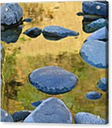 River Of Gold Acrylic Print