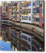 River Onyar Girona Spain Acrylic Print