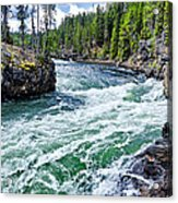 River Power Acrylic Print