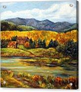 River Ranch Acrylic Print