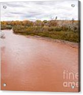 River Red New Mexico Acrylic Print