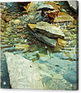River Rock Path Acrylic Print