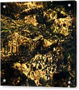 River Rock Reflections Acrylic Print