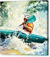 River Rocket Acrylic Print