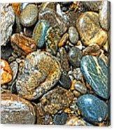 River Rocks 14 Acrylic Print